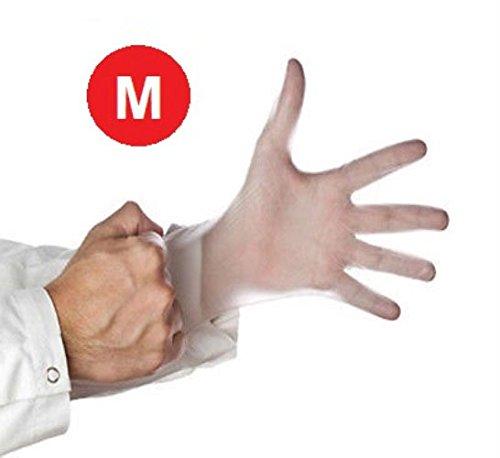 Shield Powder (1000/case Vinyl Disposable Gloves Powder Free Non-medical Size-medium 4.5 Mil Thick)