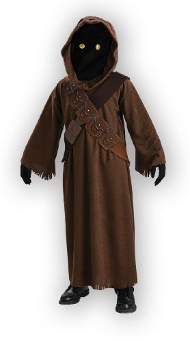 Star Wars Jawa Costume with Light Up Eyes - One Color - Medium - Star En Costume
