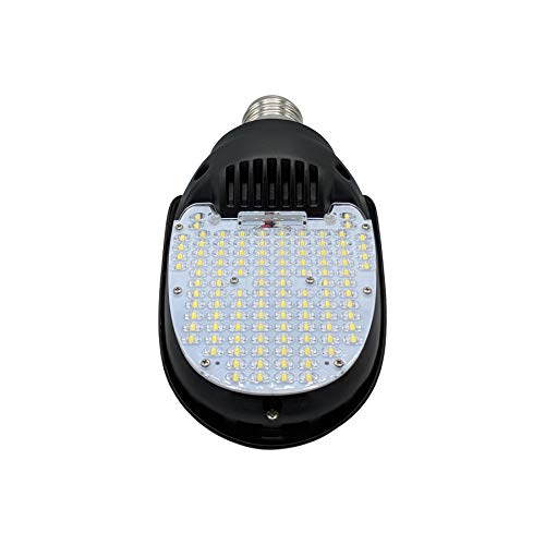 95W 180° LED Paddle Bulb, 13300 Lumens, 5000K, Large Mogul E39 Base, Replacement for Parking Lot Shoebox, Street and Flood Lights, 250W to 400W Metal Halide Bulb, HID, CFL, HPS