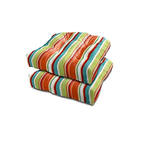 Stratford Home Indoor / Outdoor Chair Cushion, Covert Breeze (Breeze Furniture Patio)
