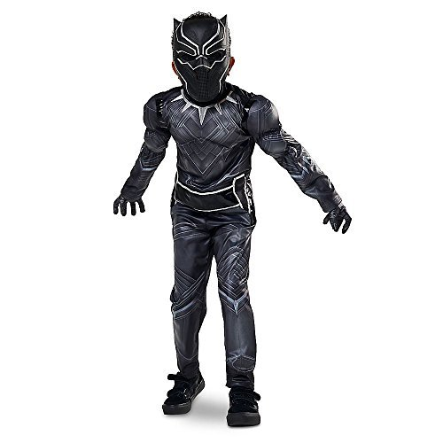 Disney Store Black Panther Halloween Costume Size Medium 7 - 8 Civil War Marvel