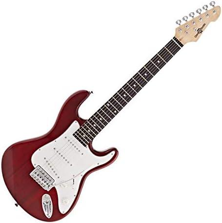 Guitarra Electrica LA 3/4 de Gear4music Wine Red: Amazon.es ...