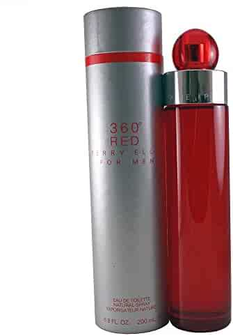 Perry Ellis 360 Red for Men, 6.8 fl oz EDT