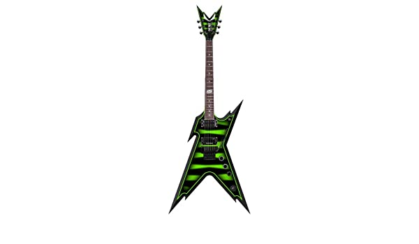 Dean Slime Bumble Bee Razorback - Guitarra con funda rígida: Amazon.es: Instrumentos musicales
