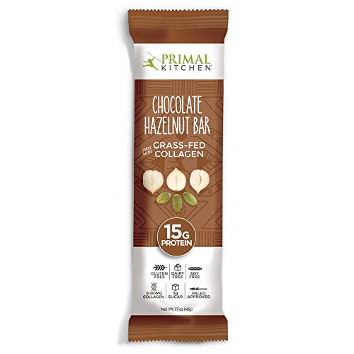 Primal Kitchen – Coconut Cashew, Dark Chocolate and Hazelnut Protein Bars, Variety 3 Pack – Made with Grass–Fed Collagen (Protein), Hazelnuts & Organic Fair–Trade Cocoa (18 Bars Total) by Primal Kitchen (Image #2)