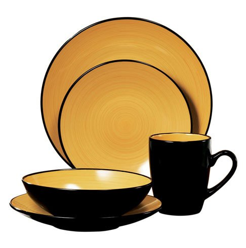 Thomson Pottery Kata 16 PC Dinnerware Set Service For 4