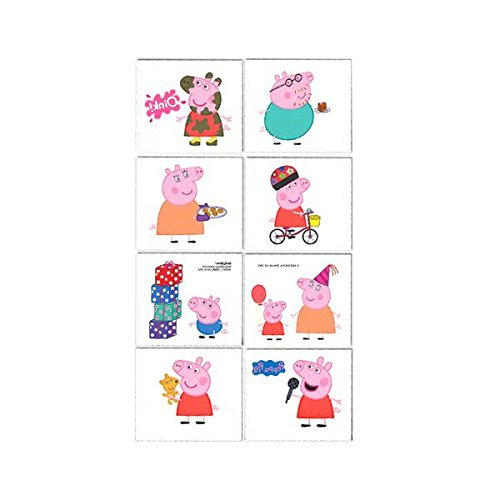 (Tattoo Favors | Peppa Pig Collection | Party)