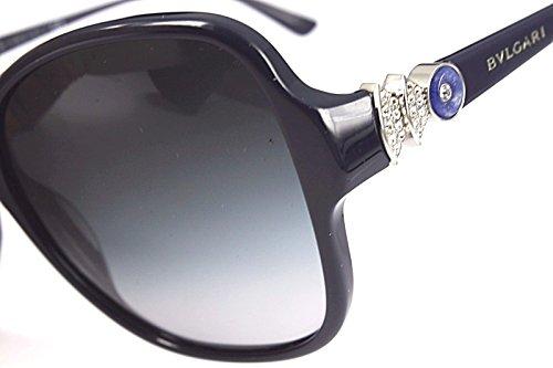 ... Bulgari Lunettes de soleil 8137B Pour Femme Black   Grey Gradient  899 8G  Dark 67799e6d0a45