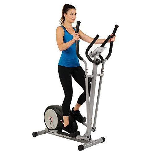 Magnetic Elliptical Machine Trainer w/ LCD Monitor and Pulse Rate Grips by EFITMENT - E006