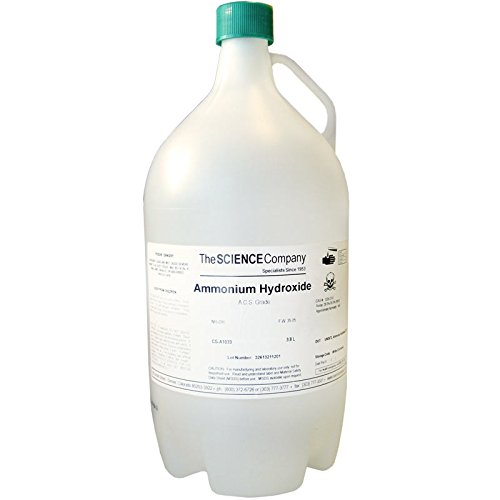 The Science Company, NC-0049, Ammonium Hydroxide 3.8L (Ammonia In Water)