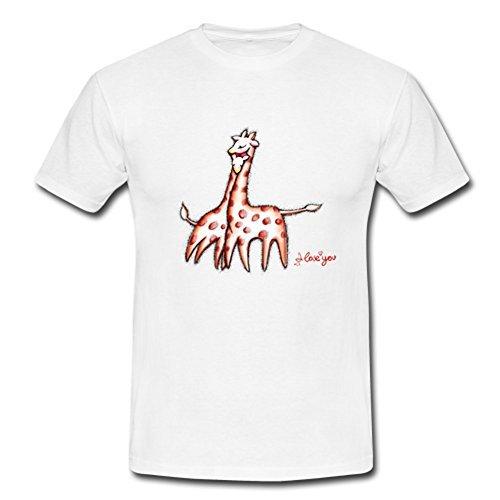 Fonts God Loves U2 Heart Custom Diseño Mens Cotton Camiseta té Camisetas negro XXL