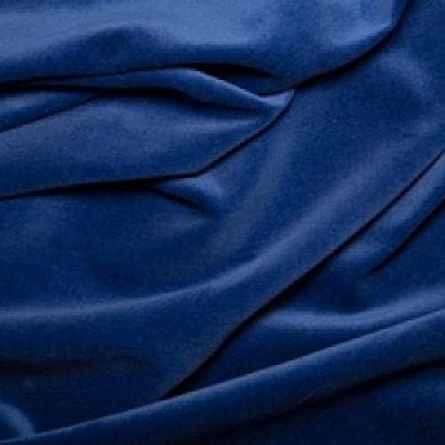 Tela de terciopelo de algodón, azul cobalto, Half Metre: Amazon.es ...