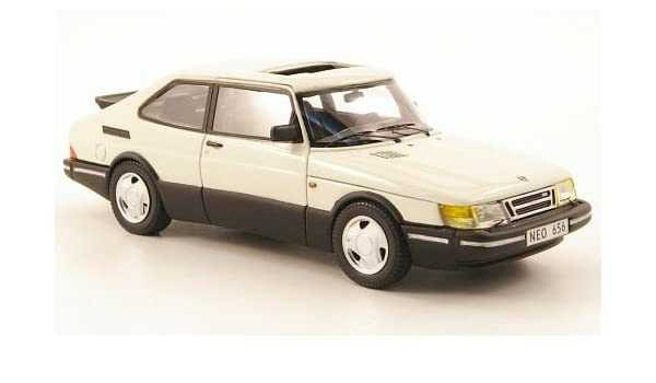 Saab 900 turbo 16S Aero, blanco, 1992, Modelo de Auto, modello completo, Neo 1:43: Amazon.es: Juguetes y juegos