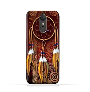 Lenovo K8 TPU Silicone Case With American Feathers Design