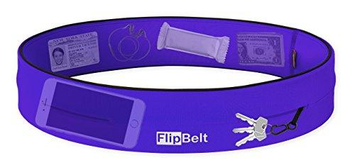 FlipBelt Level Terrain Waist Pouch, Violet, X-Small/22-25 by FlipBelt (Image #2)