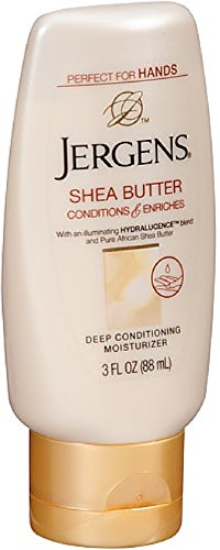 Jergens Shea Butter Deep Conditioning Moisturizer 3 oz (Pack of 2) (Jergens Shea Butter Lotion)