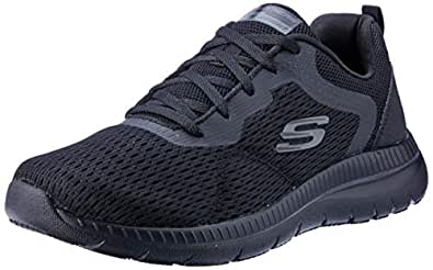 Skechers Bountiful - Quick Path Women's Sneakers, Black/Black, 5 US