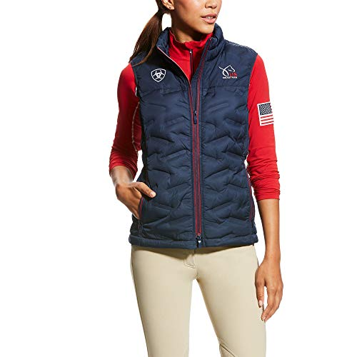 Ariat Women's USEF Welded Down Vest (Ariat Quilted Vest)
