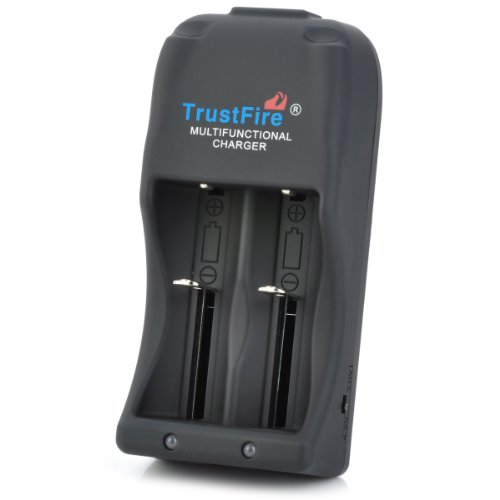 TrustFire Dual Slot Battery Charger 110 240V product image