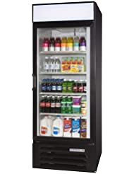 Beverage-Air LumaVue 30 Black Refrigerated Merchandiser