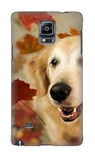 Freshmilk Premium Protective Hard Case For Galaxy Note 4- Nice Design - Animal Dog