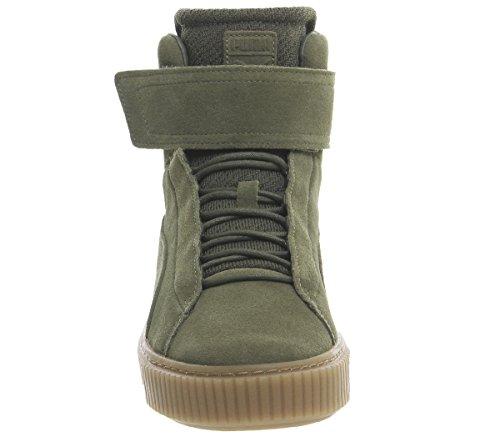 Sneakers Marrone Puma Verde 364588 Ow Platform 01 Wn's Mid qTYYIRw4