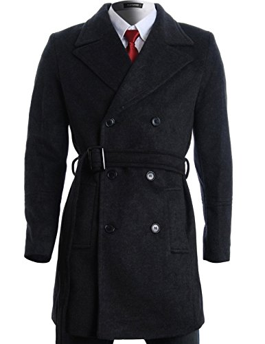 FLATSEVEN Winter Double Breasted Jacket