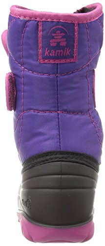 Kamik Schoeisel Snowbank2 Geïsoleerd Boot (peuter / Klein Kind / Grote Jongen) Paars / Magenta