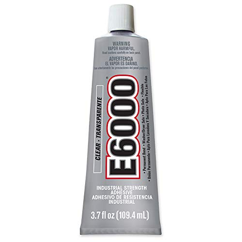 E6000 Craft Adhesive, 3.7 Fluid - 2 Glue Craft Tube Oz