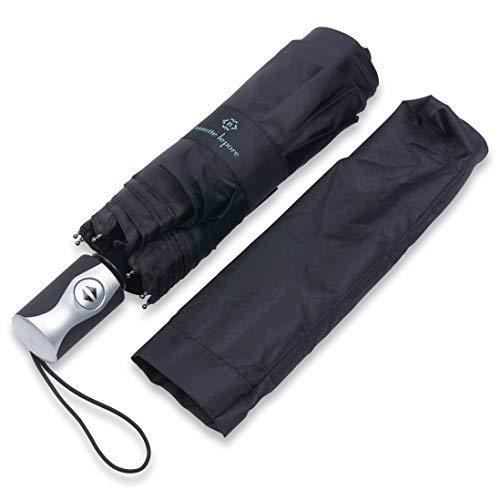 1120da46cfef Nanette Lepore Auto Open/Close Fashion Umbrella (Black): Amazon.ca ...
