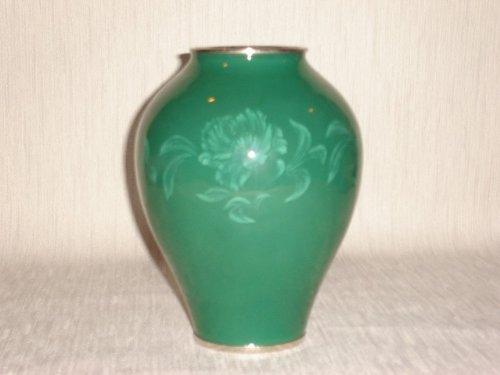 日の出工芸社 七宝 花瓶 7号ヒスイカトレア hinode cloisonne B00I4PO63U
