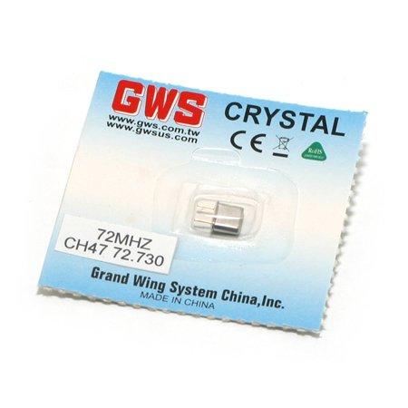 GWS FM Micro Receiver Crystal 72.73 (Gws Micro Receiver Crystal)