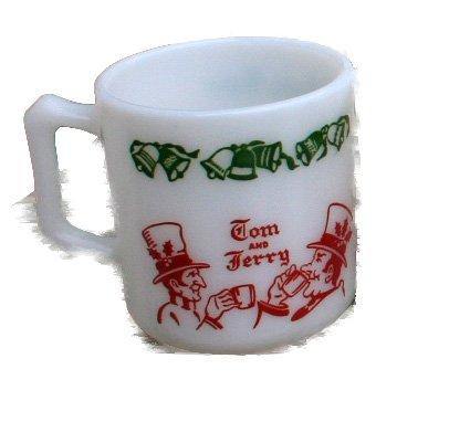 Tom & Jerry Mug by Hazel Atlas - Auld Lang Syne
