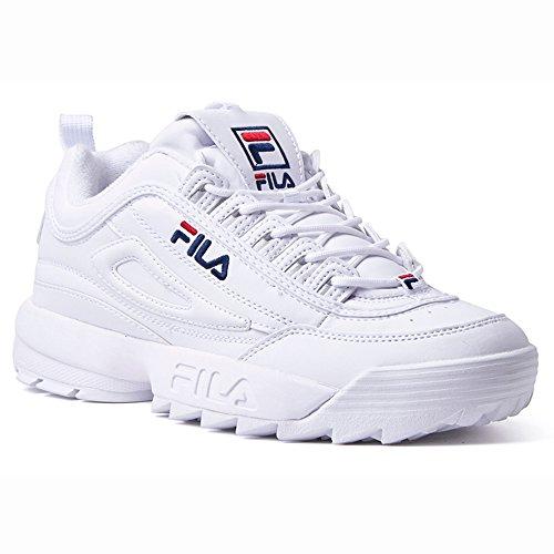081bb00542 Fila Disruptor II 2 Chaussures de Sport Femme - Chaussures de Course des  Femmes Légères des Baskets de Sport de Gymnastique de Marche des Formateurs  Pour ...