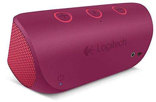 Logitech X300 Mobile Wireless Stereo Speaker, Red