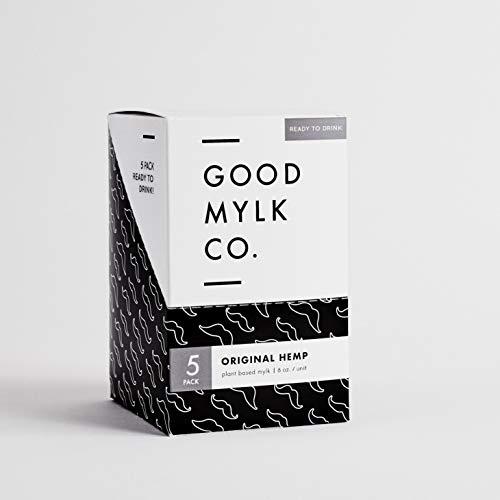 419BeQ8Q%2B2L - Goodmylk Co. - Ready to Drink Hemp Milk (10 Pack) - 8 oz Ready to Drink Packets - Organic, Non-GMO, Vegan, Low Glycemic, Sustainable, Keto, Dairy Free (Original)