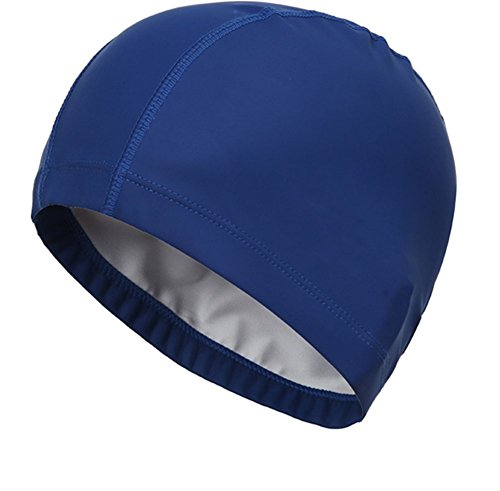 Hosaire Swimming Cap New Flexible Durable PU Diving Hat Swimming Equipment - Equipment Swiming