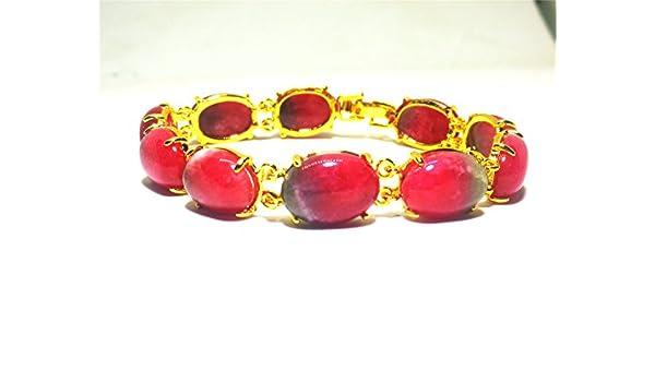 yigedan Natural Peach Pink Jade Round Morther Gift Beads Buddhist Prayer Mala Bracelet
