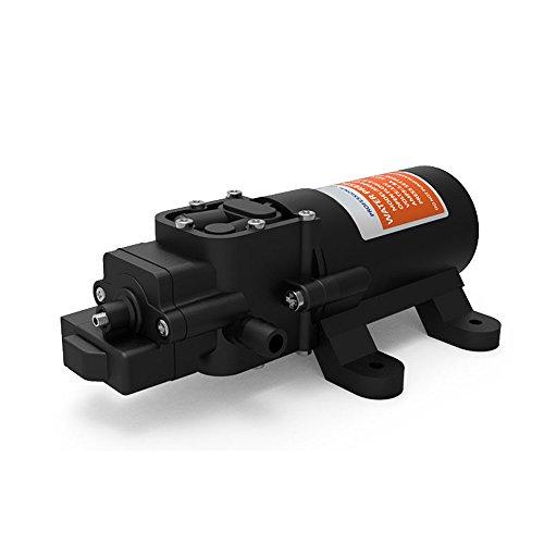 12V Diaphragm Water Pressure Pump Self Priming 4.3 L/min 1.2 GPM 80 PSI 21-Series