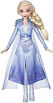 Disney Frozen Elsa Fashion Doll with Long Blonde Hair & Blue Outfit Inspired by Frozen 2 - Toy for Kids 3