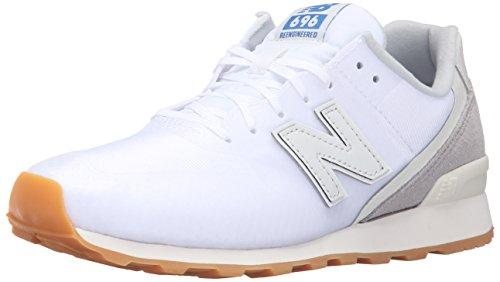 New Balance Women 696 Hybrid Pack Lifestyle Sneaker White/Grey