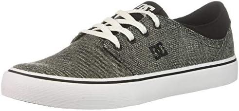 cd7eb06a99830 DC Men's Trase TX SE Skate Shoe, Grey Rinse, 10 D M US: Amazon.com ...