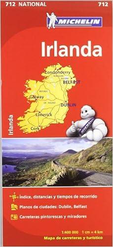 Mapa National Irlanda (Mapas National Michelin): Amazon.es: Vv.Aa ...