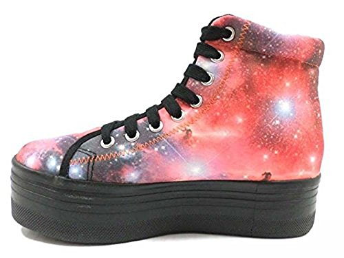 scarpe donna JC PLAY by JEFFREY CAMPBELL 39 EU sneakers multicolor AY799