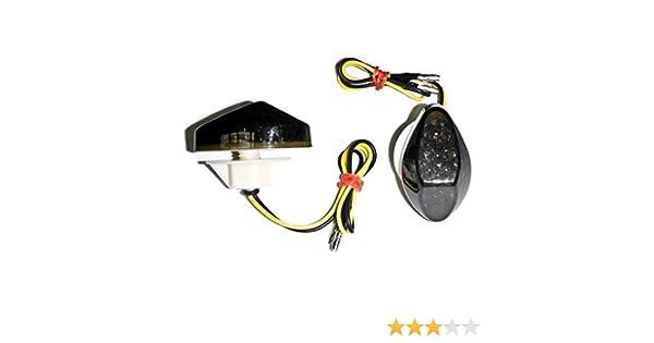 F4i CBR 900RR LED TailLights Brake Tail Lights with Integrated Turn Signals Indicators Smoke Motorcycle Krator/Â/® 1999-2006 Honda CBR 600 F4