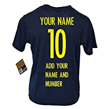Fc Barcelona Youth Kids Training Soccer Jersey Homme - Personalized Custom (Add Name & Number)