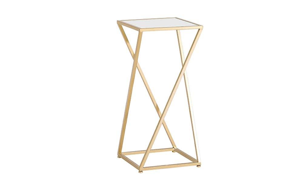 TongN Semplice tavolino Moderno tavolino Tavolino Basso da Salotto in Marmo con tavolino da Salotto in Marmo Color : Gold+Black, Size : S