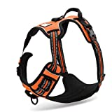 TOPSOSO Fashion Shop Best Front Range No-Pull Dog Harness 3M Reflective Outdoor Adventure