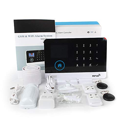YYY WiFi + gsm Alarma Host Pantalla LCD Pantalla Táctil ...