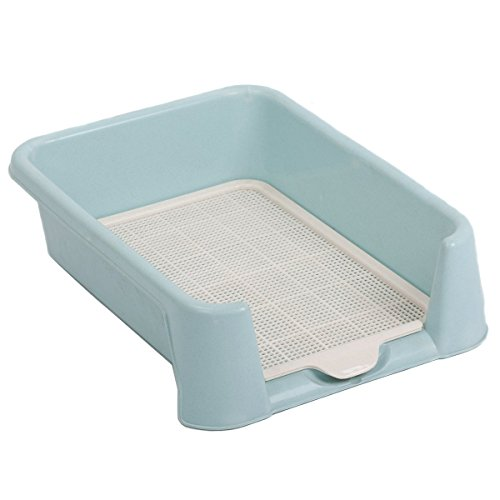 Favorite Dog Protection Plastic Training Tray/ Puppy Training Pad Holder/Indoor Restroom for Pets/Dog Litter Box